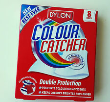 8 X  DYLON COLOUR CATCHER DOUBLE PROTECTION  SHEETS