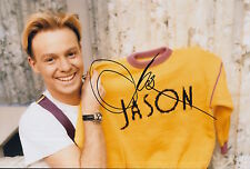 Jason Donovan Hand Signed 12x8 Photo Especially for You Kylie Minogue 4.