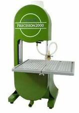 NEW PRECISION 2000 STAINED GLASS LAPIDARY DIAMOND BAND SAW 3 BLADES