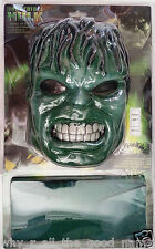 THE INCREDIBLE HULK  Halloween Fancy Dress Costume - Mask & Vest - One Size