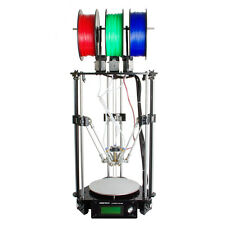 Geeetech Latest Rostock delta 301 triple-color 3-in-1-out extruder 3D Imprimante