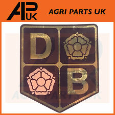 David Brown Tractor Sticker Decal Badge Bonnet Nose Cone Emblem DB 990,995,996