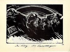 Käthe Kollwitz Holzschnitte Der Krieg: Die Freiwilligen / Das Opfer um 1930