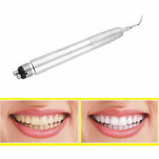 Dental Ultrasonic Air Perio Scaler Handpiece Hygienist 4-Holes with 3 Tips DE