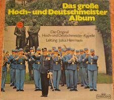Das große Hoch-und Deutschmeister Album, VG+/EX  2 LP (6694)