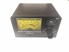 NEW 1000 WATT SWR POWER METER LT-SWR165 CB HAM RADIO ANTENNA METER 3-200MHz