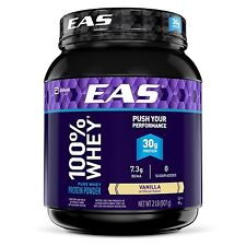 EAS 100% Pure Whey Protein Powder Vanilla 2lb (Packaging May Vary)
