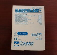 CONMED ELECTROLASE Disposable HYFRECATOR Tips #7-101-12BX NEW/SEALED 100/BX