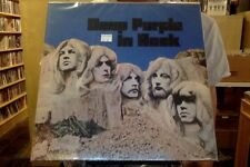 Deep Purple In Rock LP sealed 180 gm vinyl RE reissue