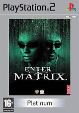 Enter The Matrix PS2 Versione Platinum