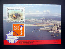 SOLOMON ISLANDS Wholesale 1997 $4 Crab M/Sheet x 100 NEW LOWER PRICE FP1082