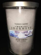 Yankee Candle ARTIC GLACIER  22 oz WORLD JOURNEYS Tumbler  / FREE SHIP