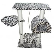 "36"" Cat Tree Condo Furniture Scratch Post Pet House 4008-Leopard Skin"