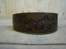 "WC5 Leather Dog Collar Lurcher/Whippet/Bedlington/Puppy 10.5""-13.5"" Lamping"