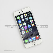 Apple iPhone 6 64GB Silver Factory Unlocked SIM FREE Good Condition