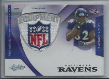 TORREY SMITH 2011 ABSOLUTE RPM ROOKIE NFL EQUIPMENT LOGO SHIELD PATCH RC #D 4/5