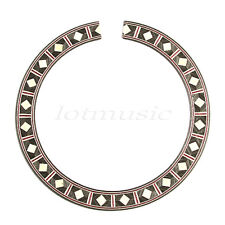 New Guitar Rosette Inlay, Sound Hole Rosette Guitar Parts Free Shipping