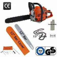 "12"" Petrol Chainsaw 53cc Brand New Complete With Chain, Bar and More"