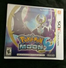 Pokemon Moon Nintendo 3DS Video Game NEW Factory Sealed