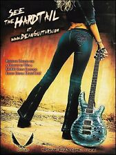 The 2003 Dean Hardtail electric guitar ad 8 x 11 advertisement print