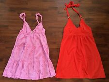 Women's Size Small Victoria Secret Gown And Sum Dress Lot Both Very Good