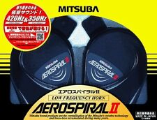 F/S MITSUBA AeroSpiral II 2 Low Frequency Car Horn MH13A-011A NEW From Japan