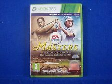 Xbox 360 TIGER WOODS PGA TOUR 14 Masters Historic Edition MINT DISC PAL