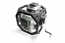 360 degree Spherical Panorama Mount f. 6x GoPro Go Pro HD HERO 3, 3+ Zubehör