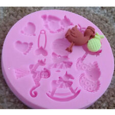 DIY Silicone Fondant Cake Mould Chocolate Pastry Candy Molds Decorating Moulds