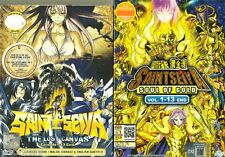 DVD Anime Saint Seiya Soul of Gold + The Lost Canvas Complete Series 2 Box Set