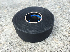 "Renfrew Wide Black Cloth Hockey Stick Tape Pro Quality  1.5"" X 30YD"