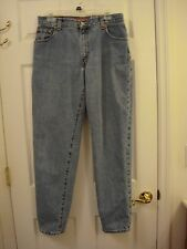 Levi's 550 Relaxed Fit Distressed Denim Jeans Ladies Size 12 Mis Long