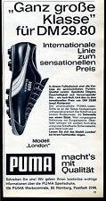 Puma-- Modell London-- Ganz große Klasse--DM 29.80--  --Werbung von 1964-