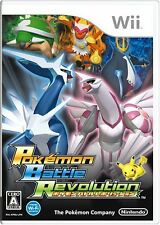 USED Nintendo Wii Pokemon Battle Revolution Game Japan