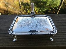 Sterling Silver Georgian Reproduction Cheese Tray Box Garrard & Co