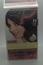 L'Oreal Excellence Cream Hair Dye Color Mahagony Brown F5  Permanent