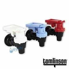 (3 Pack) Water Cooler Faucet Spigot Tomlinson Dispenser Hot Cold Safety Lever
