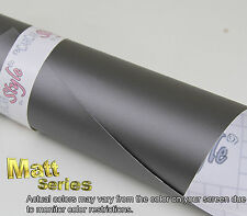 【MATT】Vehicle Wrap Vinyl Film Sticker Air/bubble Free Small Size - Self adhesive