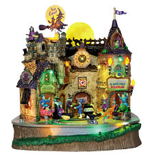 LEMAX SPOOKY TOWN Halloween House/Village - LIL' WITCHES & WARLOCKS NIGHTCARE