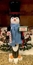 Penguin Nutcracker Peppermint Candy Cane Snowflake Just Chillin Christmas Tree