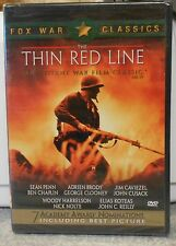The Thin Red Line (DVD, 2001 Fox War Classics) RARE ALL STAR CAST BRAND NEW