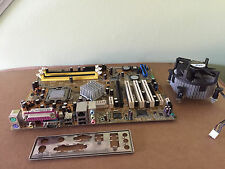 ASUS P5SD2-X Socket 775 MotherBoard with CPU, Fan, IO Shield