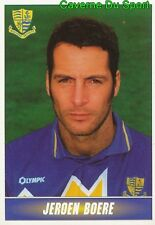 310 JEROEN BOERE NETHERLANDS SOUTHEND UNITED.FC STICKER 1ST DIVISION 1997 PANINI