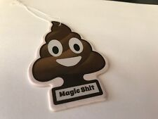 Magic Poo Obscene Car Air Freshener scene vw rat look camper race rally man cave