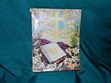 Easter IDEALS April 1954 Vol, 11 No. 2 -  Cross and Holy Bible
