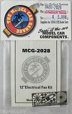 "1/24 & 1/25 Scale 12"" Electrical Fan Kit Model Car Accessories - MCG #2028"
