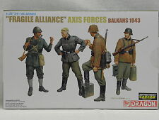 Dragon 6563 Fragile Alliance Axis Forces Balkans 1943 mit 4 Figuren Maßstab 1:35