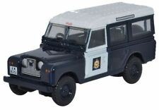 Oxford 76LAN2012 Land Rover S-II Hong Kong Police1/76 Scale =00 New in Case -T48