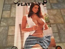 Playboy  Sexy Vintage  Poster 22 X 35 Man Cave Garage Sexy Model Swimsuit #3620