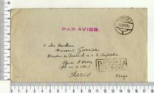 A7435) POLAND Reg. AMC 18.12.1947 Krakow - Paris